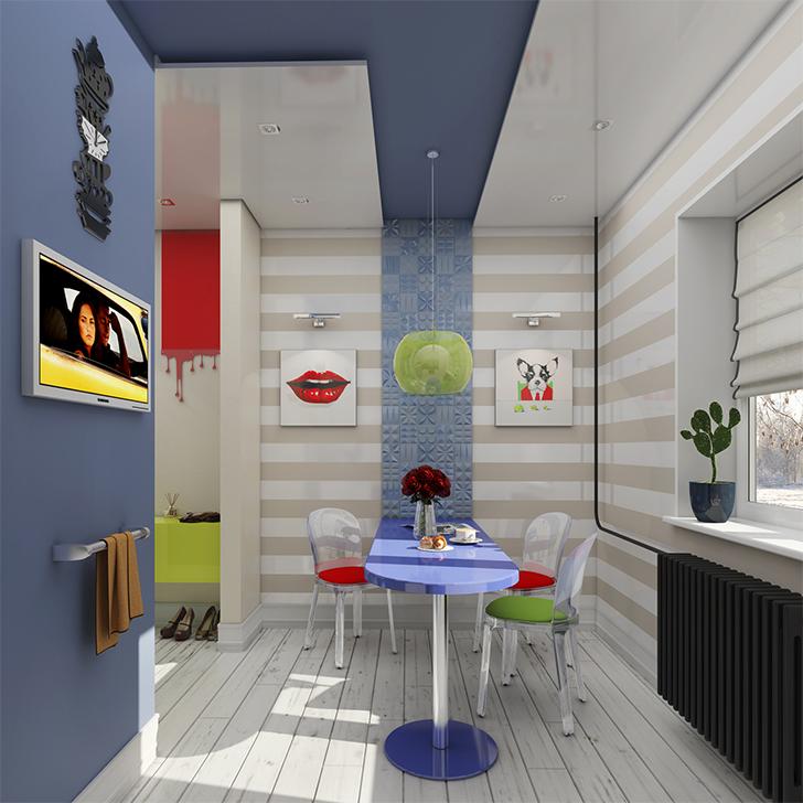 Uma casinha de 37m² com decoração inspirada no Pop Art - Casinha Arrumada