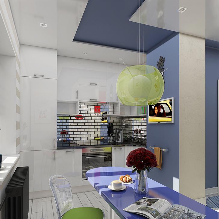 Pequeno apartamento lindo e inspirador 7