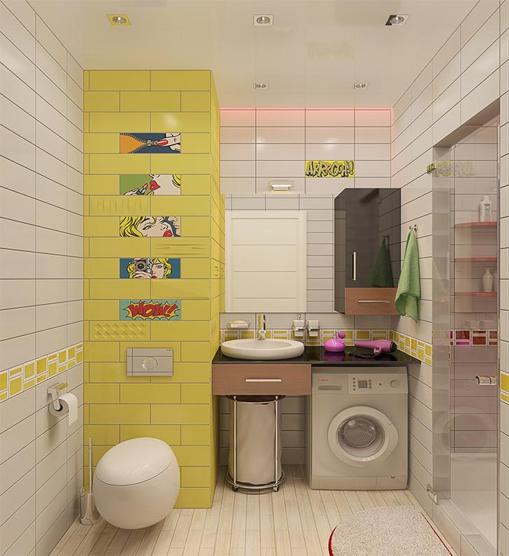 Pequeno apartamento lindo e inspirador 8