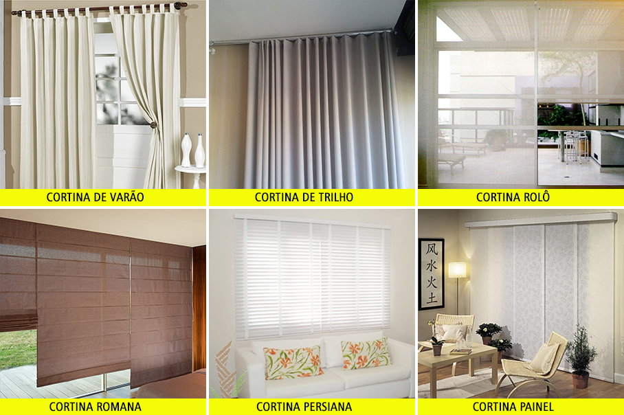 Tipos cortinas good modelos de cortinas with tipos for Tipos de cortinas para dormitorios