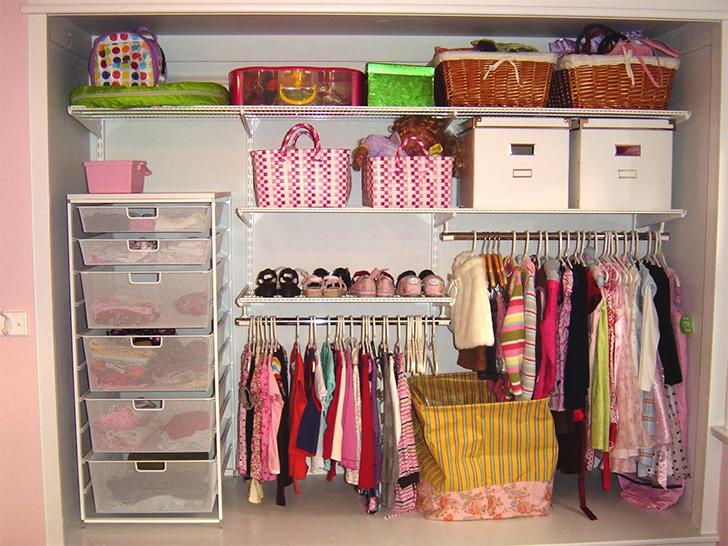 Organize cada c modo 5 como organizar o quarto das for Working closet modernos