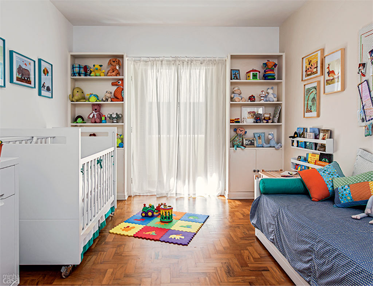 como organizar o quarto das crianças 8