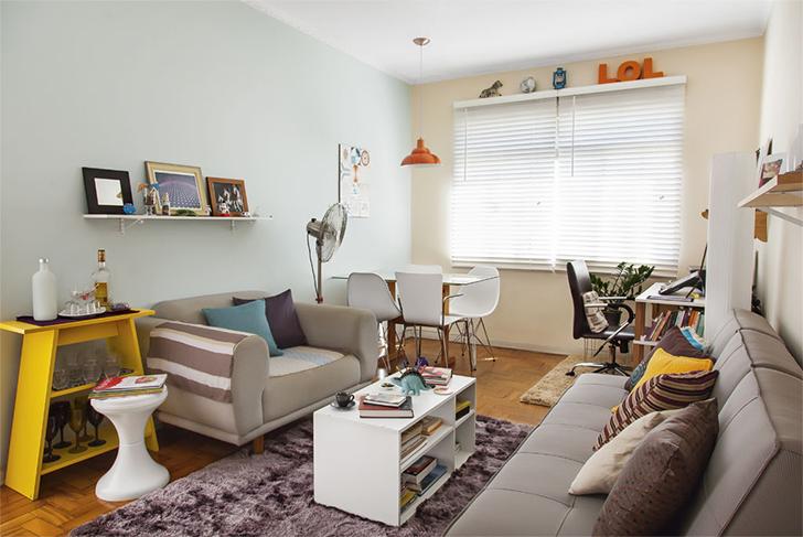 decoração apartamento colorido e divertido 1