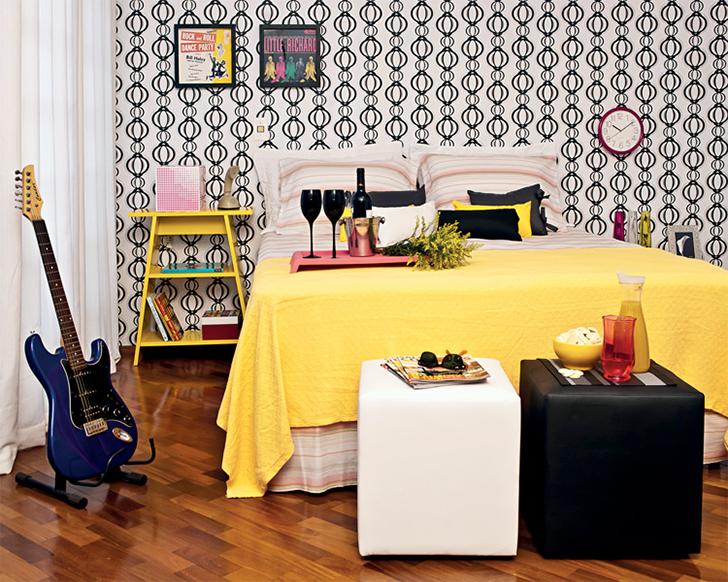móveis coloridos na decoração 2