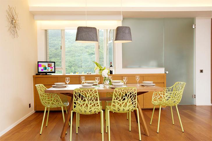 móveis coloridos na decoração 3