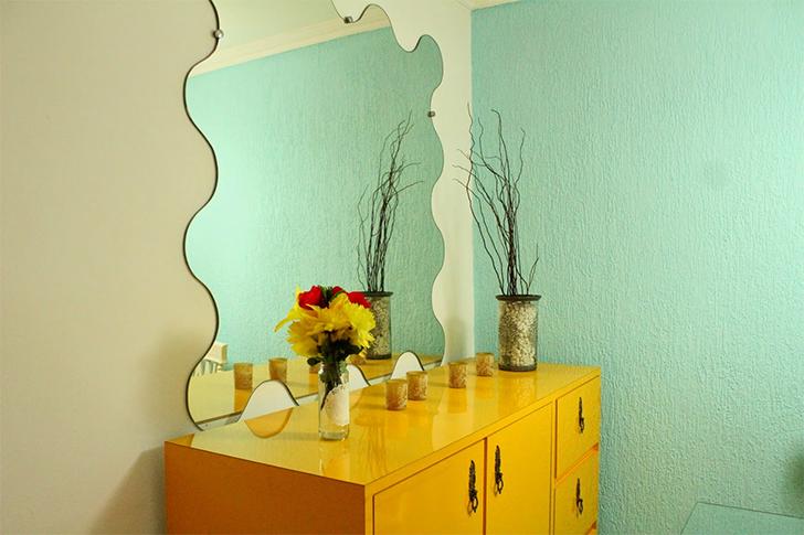 móveis coloridos na decoração 5