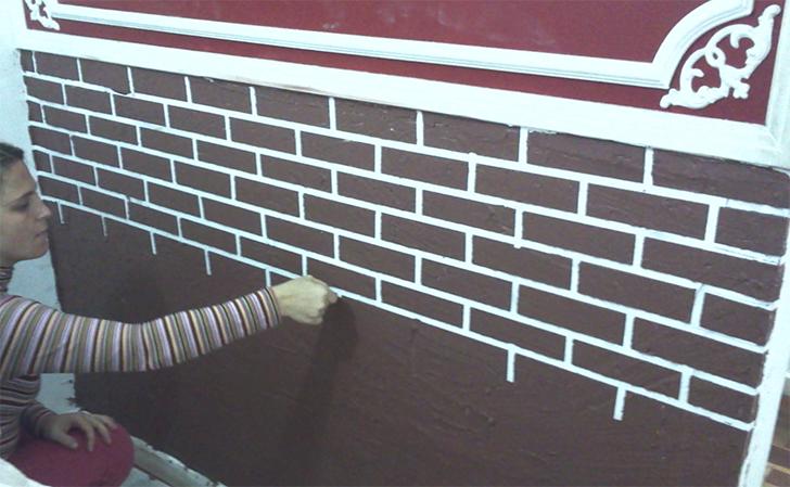 parede de tijolinhos aparentes 7