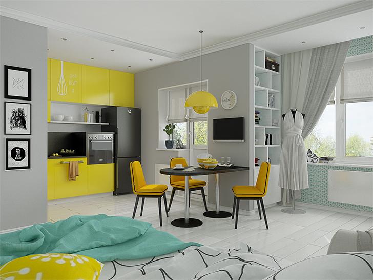 pequenas casas charmosas e confortáveis morar sozinha 1