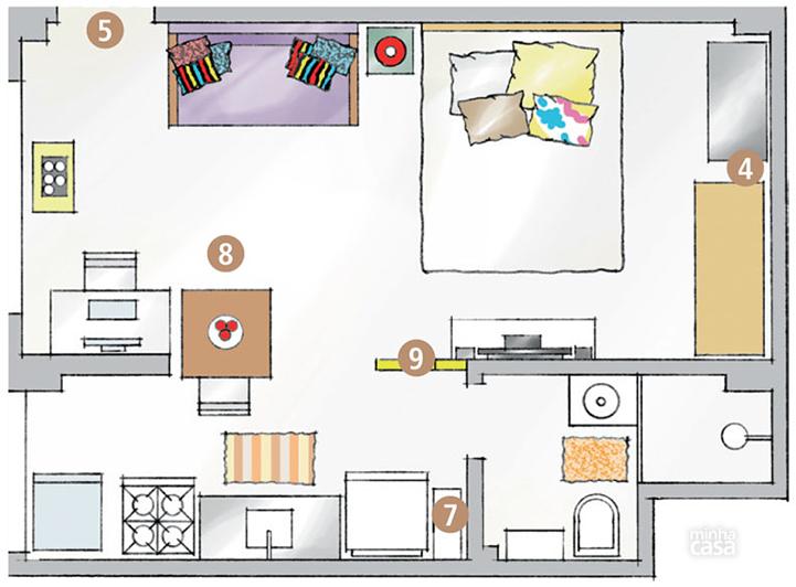 pequenas casas charmosas e confortáveis morar sozinha 16