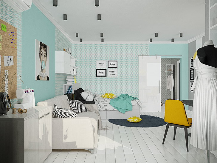 pequenas casas charmosas e confortáveis morar sozinha 2