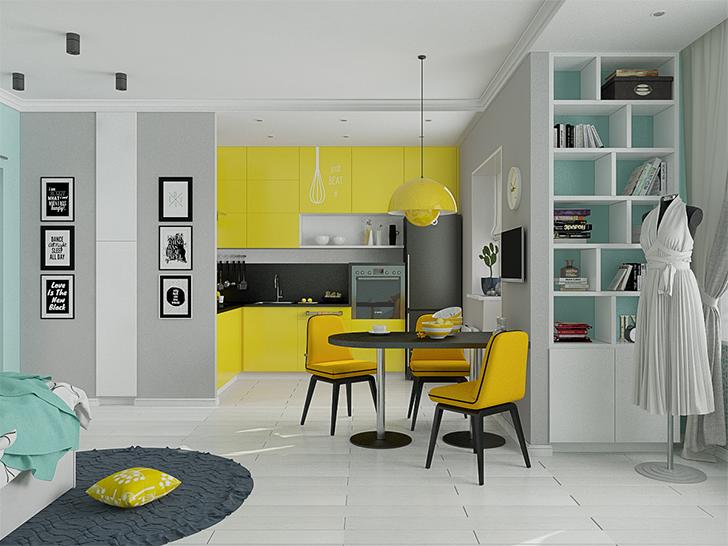 pequenas casas charmosas e confortáveis morar sozinha 3