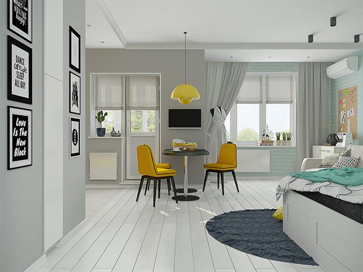 pequenas casas charmosas e confortáveis morar sozinha 5