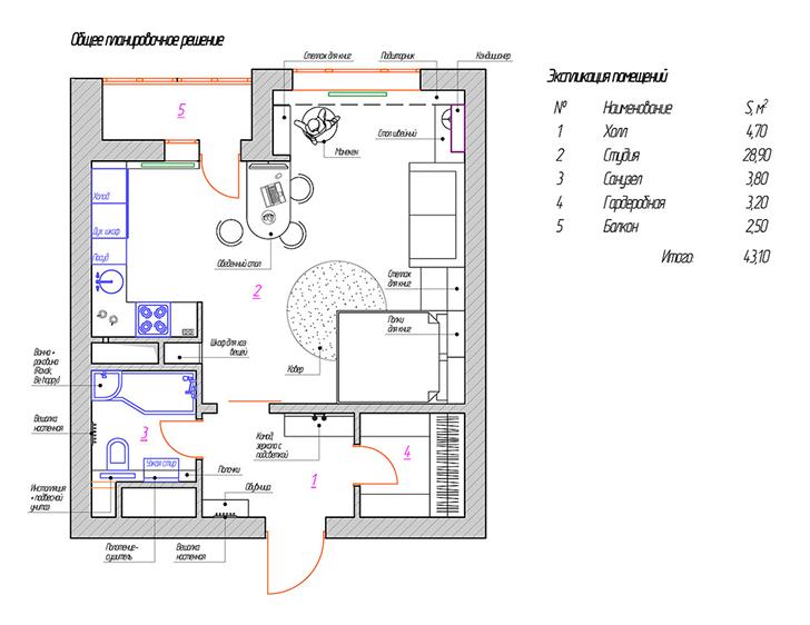 pequenas casas charmosas e confortáveis morar sozinha 9