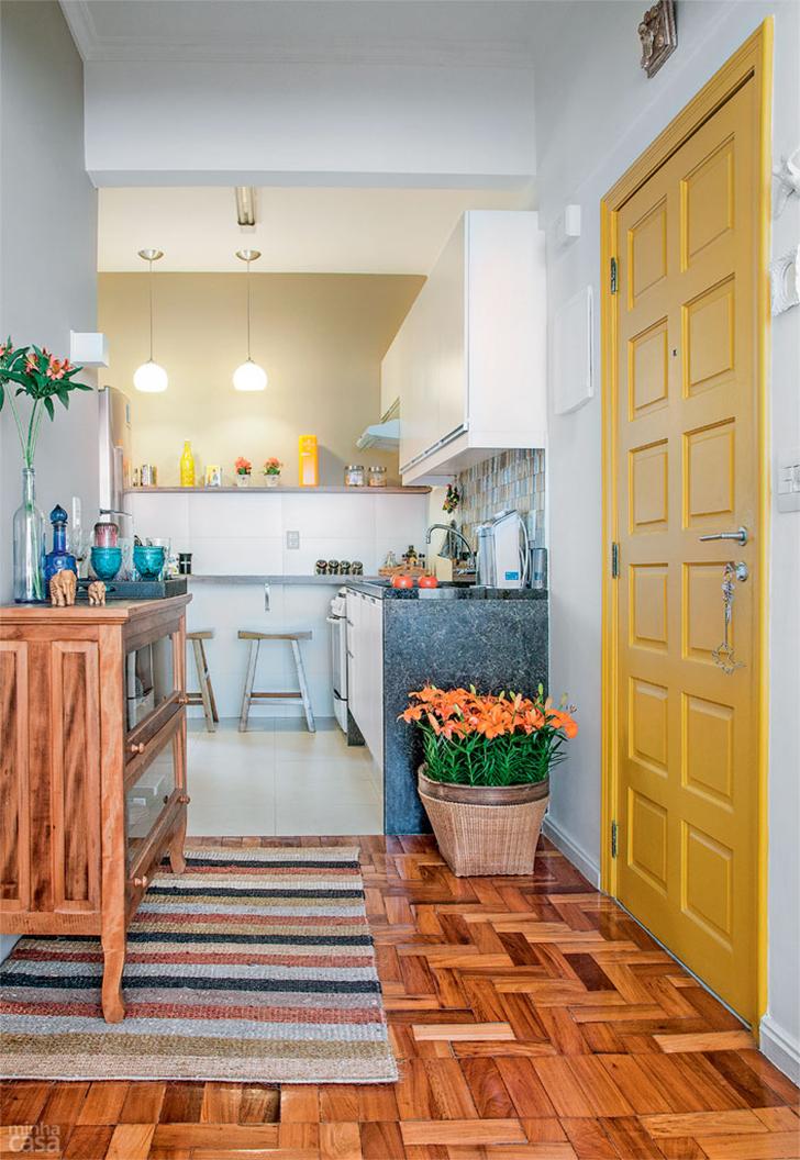 pequeno apartamento morar sozinha charmoso e confortável 1
