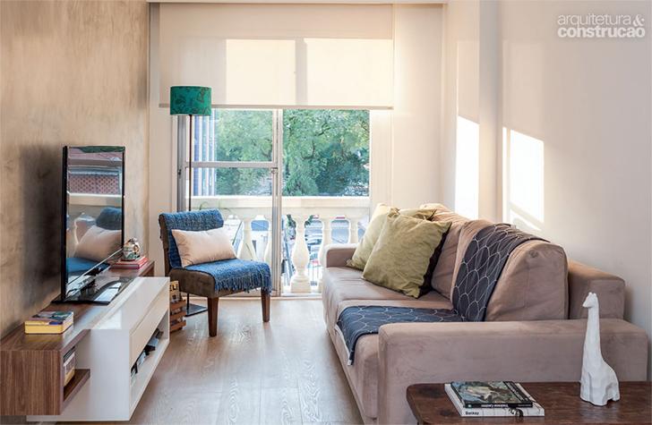 5 plantas e projetos decorados de casinhas pequenas for Como organizar un apartamento muy pequeno