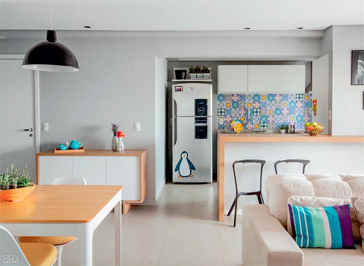 pequeno apartamento morar sozinha charmoso e confortável 14