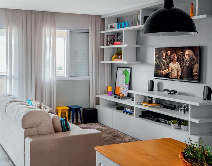pequeno apartamento morar sozinha charmoso e confortável 15