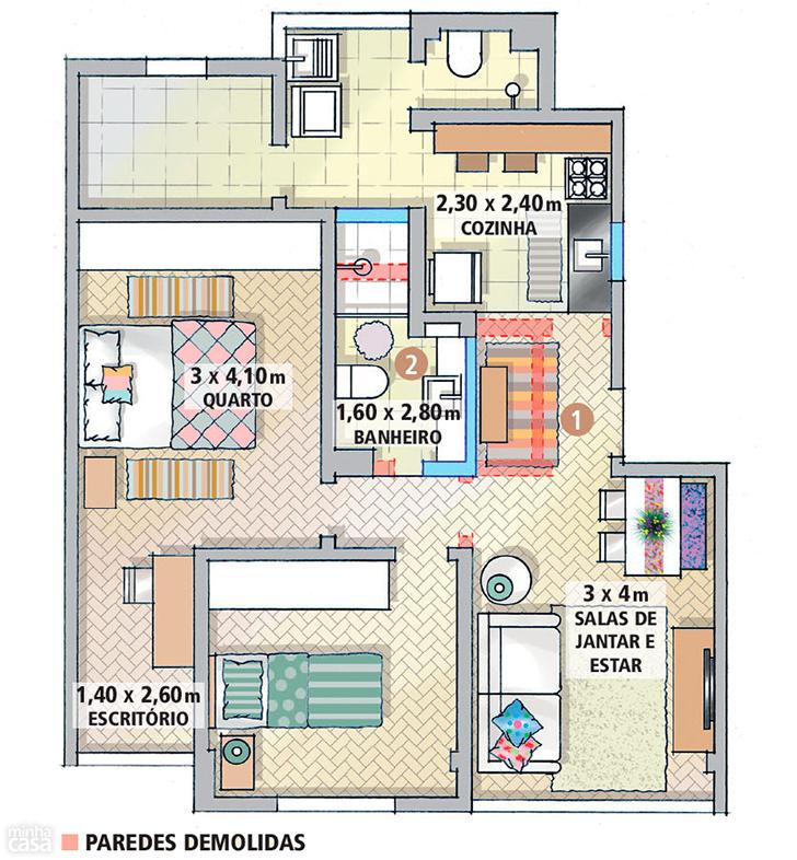 pequeno apartamento morar sozinha charmoso e confortável 2