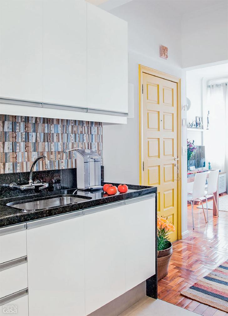 pequeno apartamento morar sozinha charmoso e confortável 3