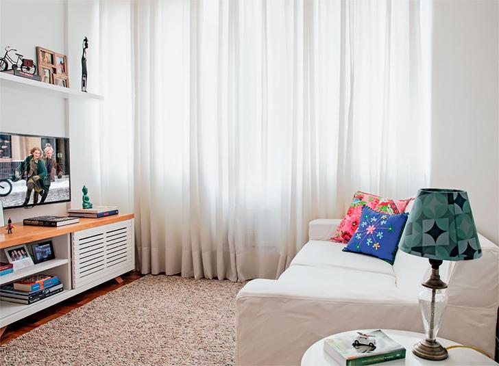 pequeno apartamento morar sozinha charmoso e confortável 6
