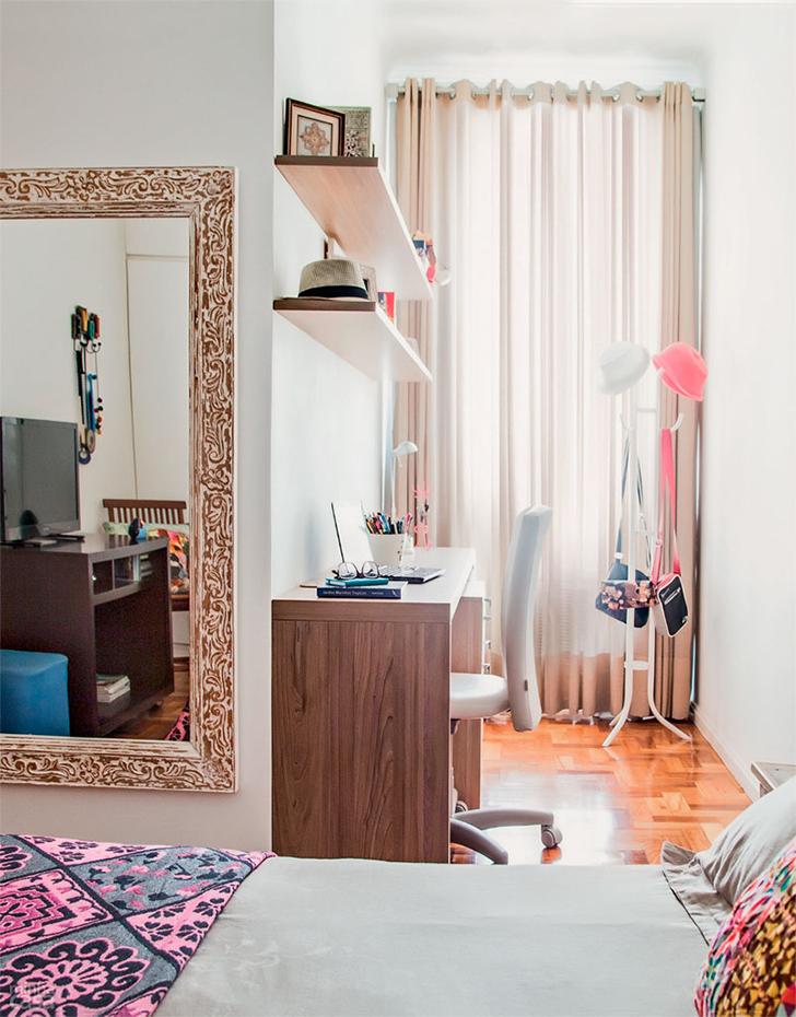 pequeno apartamento morar sozinha charmoso e confortável 8