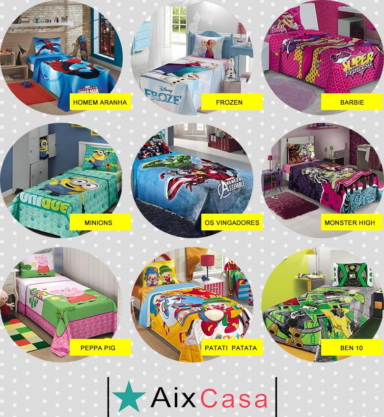 jogos de decoracao de interiores de casas: Você pode conhecer toda a linha infantil da Aix Casa clicando aqui