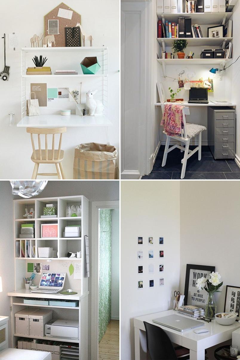 como montar um home office em um espaço pequeno 2