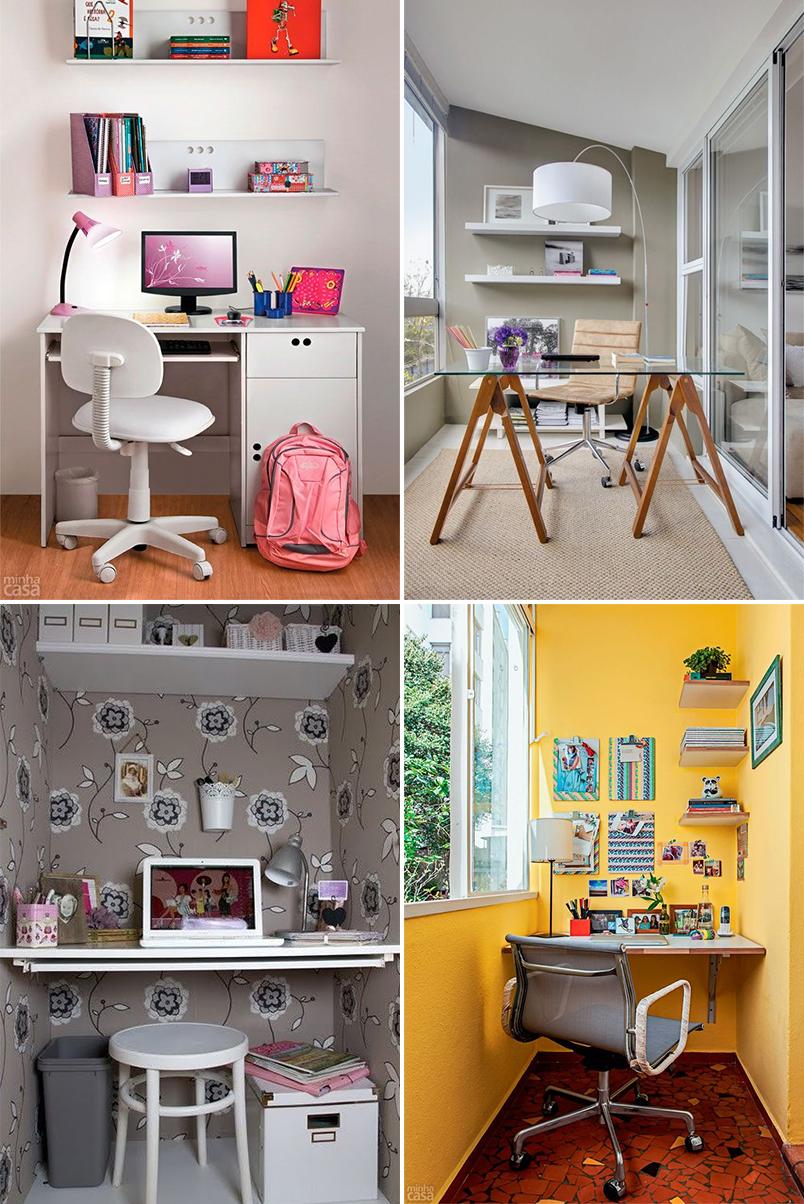 como montar um home office em um espaço pequeno 3