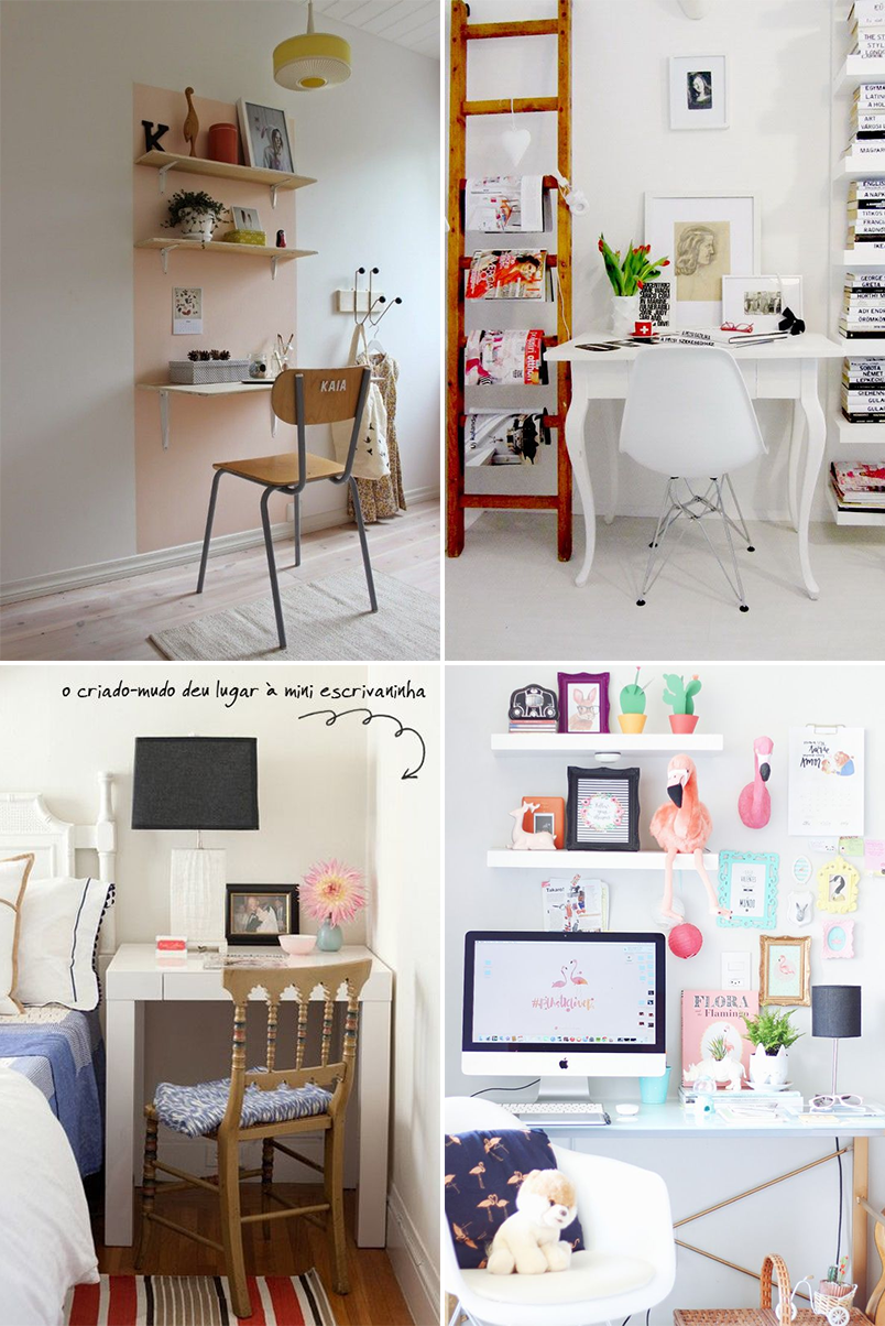 como montar um home office em um espaço pequeno 4