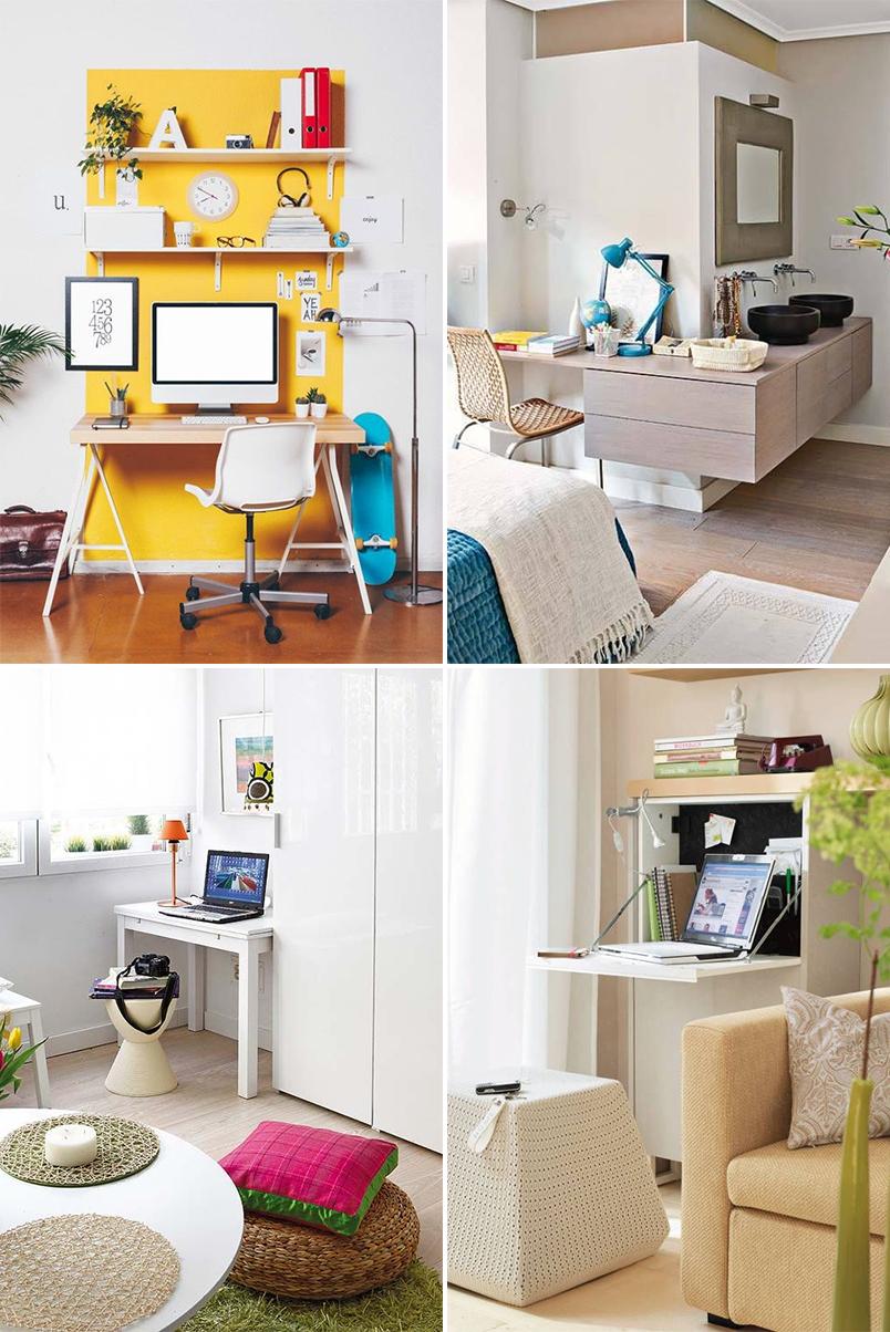 como montar um home office em um espaço pequeno 5