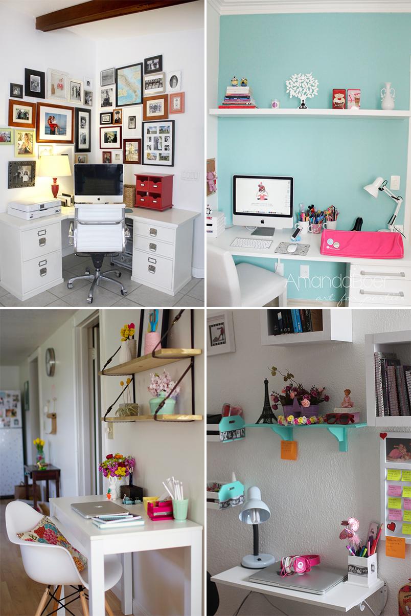 como montar um home office em um espaço pequeno 6