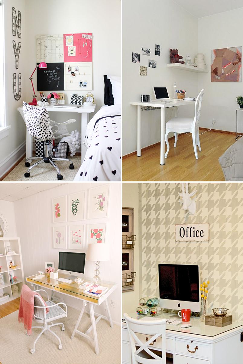 Como Montar Um Home Office Em Um Espa O Pequeno Artflex ~ Mesas De Estudo Para Quarto Pequeno