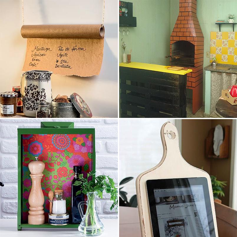 decorar cozinha velha : decorar cozinha velha:Aquela gaveta velha pode virar um lindo nicho vertical para organizar