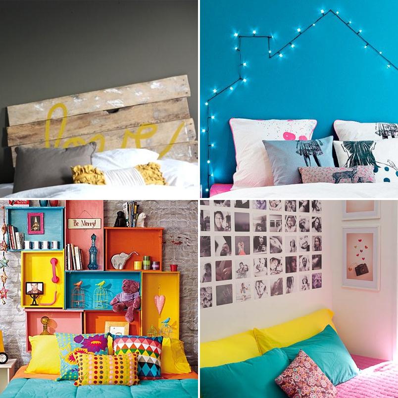 DIY 24 ideias criativas e econômicas para decorar e  ~ Quarto Simples Organizado
