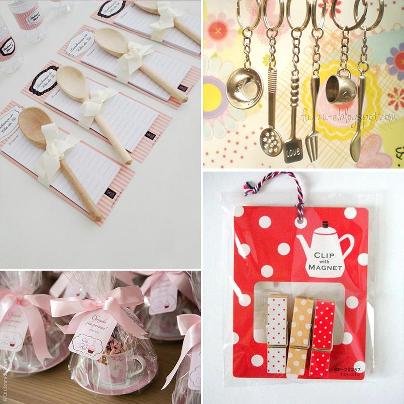 inspirações e ideias de decoração para chá de panela chá de cozinha 5 - lembrancinhas
