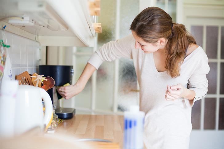 como limpar cafeteira