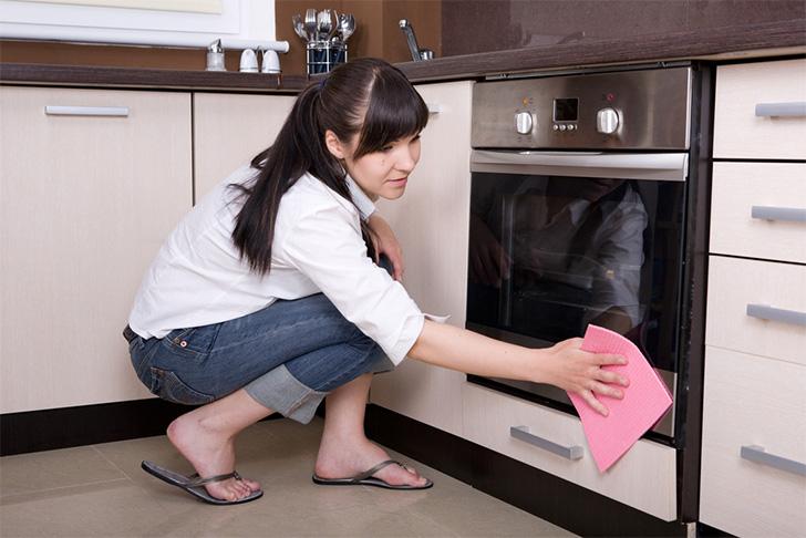 como limpar forno