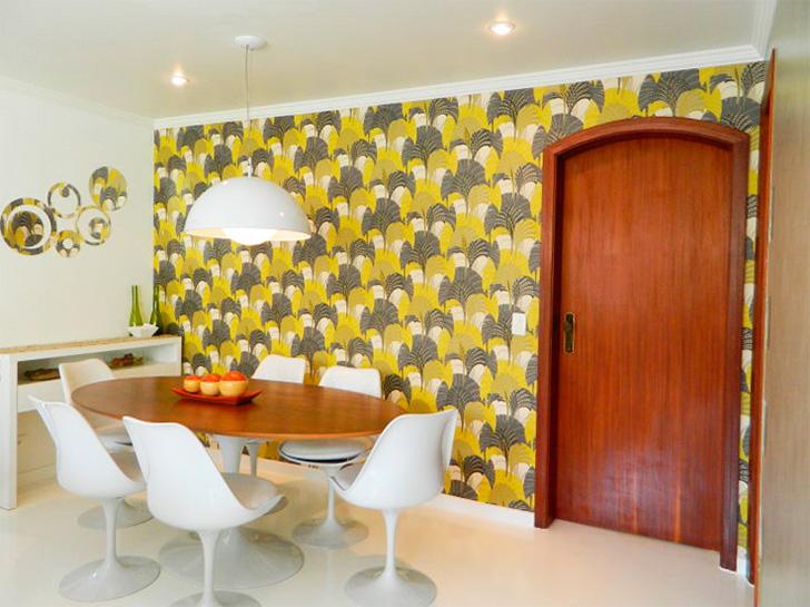 20 ambientes com papel de parede para você se inspirar 10
