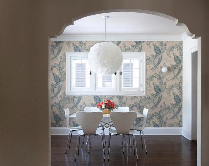 20 ambientes com papel de parede para você se inspirar 13