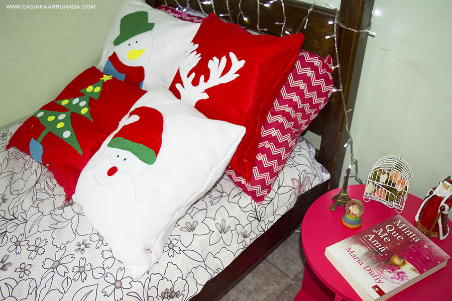 DIY Almofadas decorativas para o Natal 1