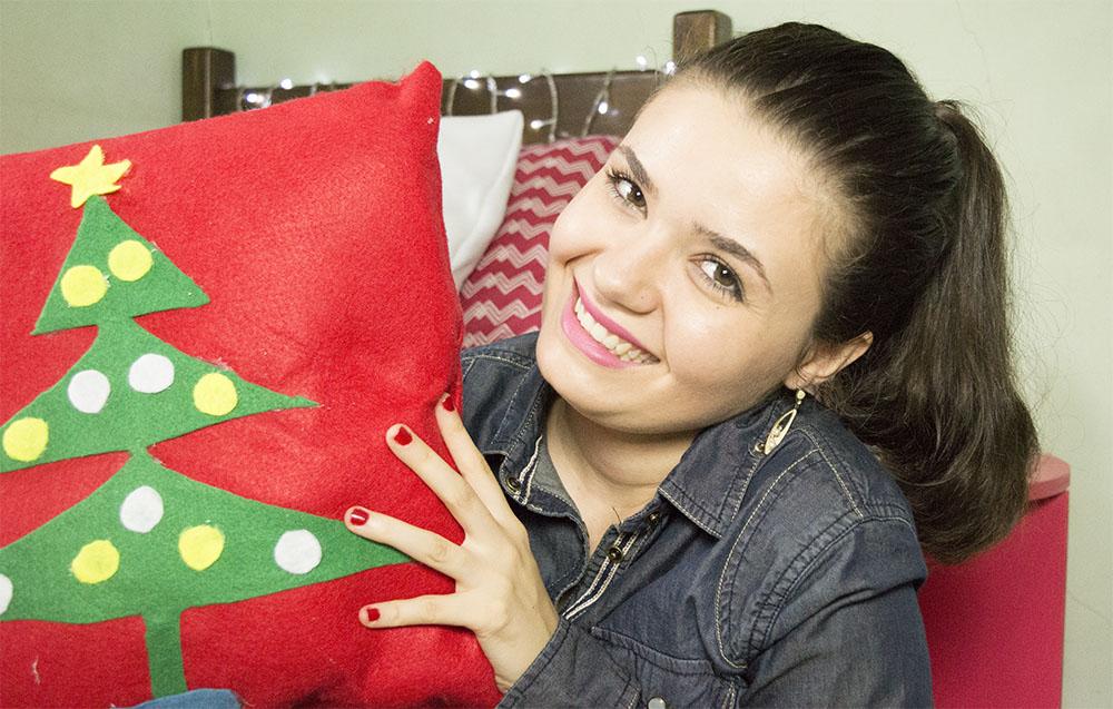 DIY Almofadas decorativas para o Natal 4
