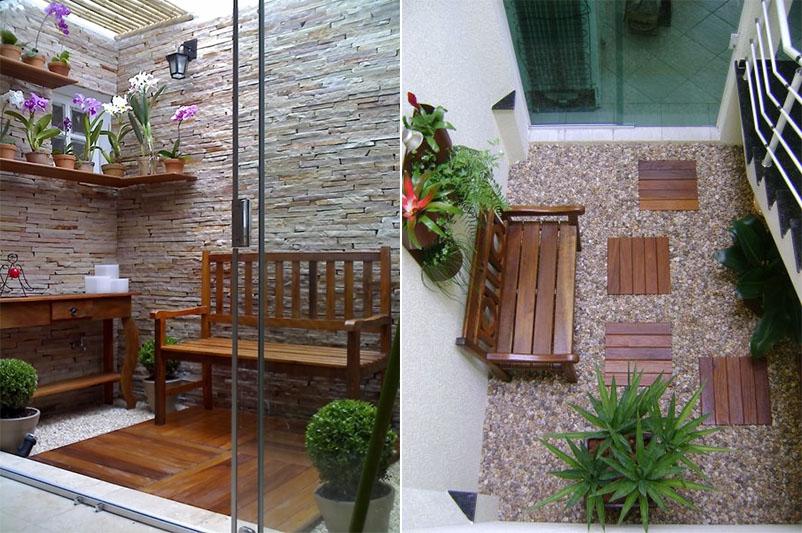 fotos de jardim interno : fotos de jardim interno:Jardim de inverno: como montar o seu – Casinha Arrumada