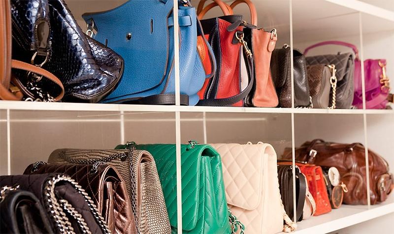 como guardar e organizar bolsas 2