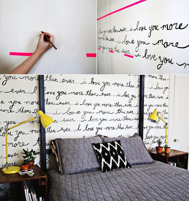 decoração frases na parede 3