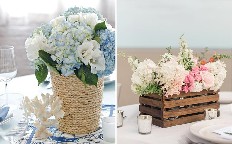 10 ideias diferentes de arranjos de mesa para casamentos que você mesma pode fazer 2