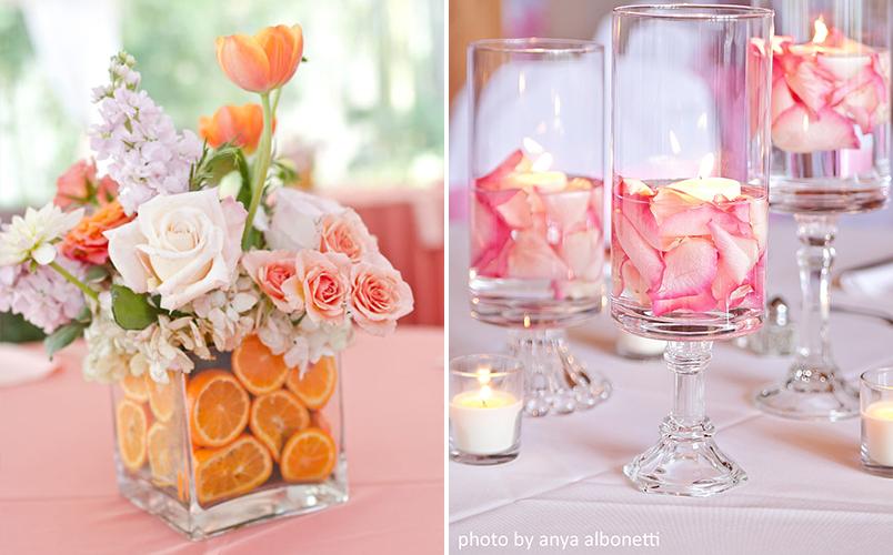 10 ideias diferentes de arranjos de mesa para casamentos que você mesma pode fazer 3