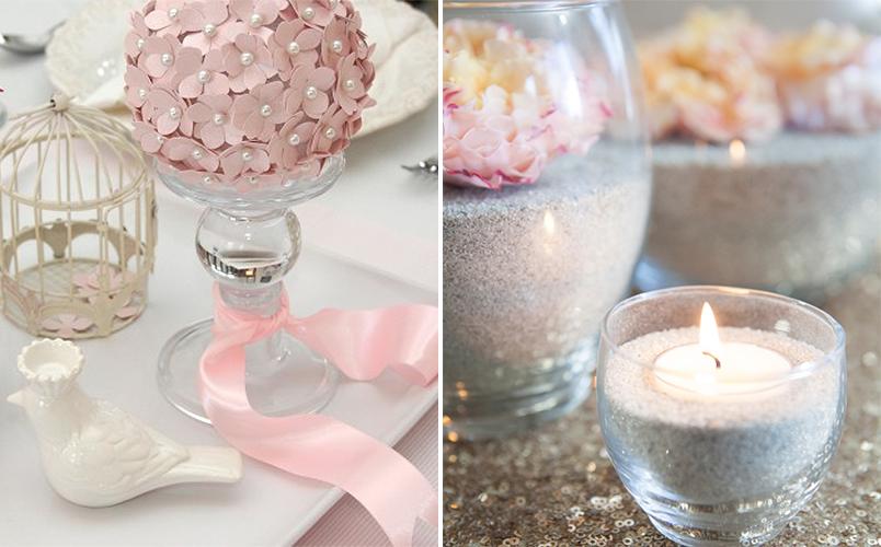 10 ideias diferentes de arranjos de mesa para casamentos que você mesma pode fazer 5