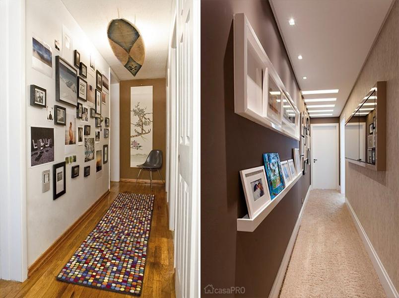 5 ideias criativas para decorar o corredor da sua casa for Idea de pintura de corredor