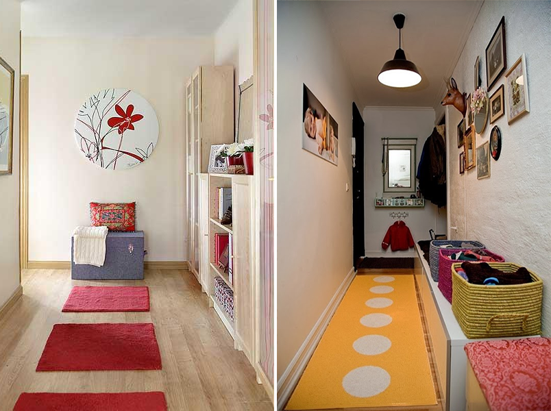 5 ideias criativas para decorar o corredor da sua casa Casinha Arrumada # Ideias Para Decorar Hamburgueria