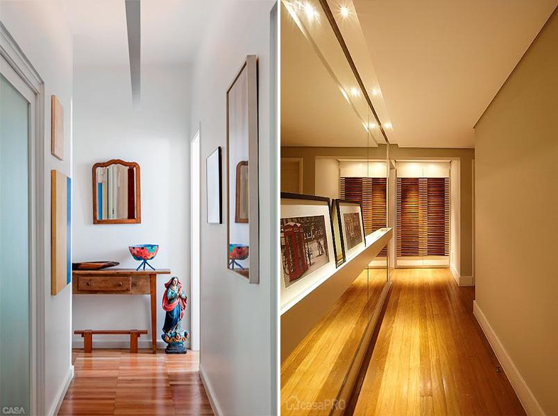 5 ideias criativas para decorar o corredor da sua casa 5